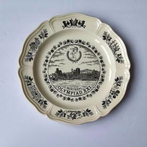 1976 Olympics Wedgwood Plate